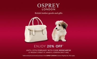 英国人都爱的本土皮具品牌OSPREY LONDON,独家新春折扣20%OFF送给你!