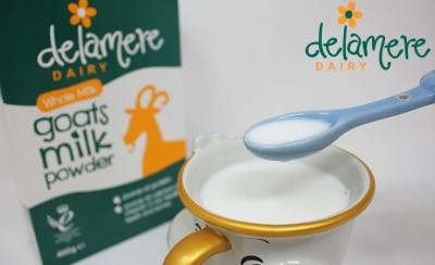 Delamere | 高营养老少皆宜的英国德拉米尔全脂山羊奶粉