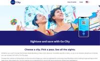 节省高达65%的城市景点费用:Go City