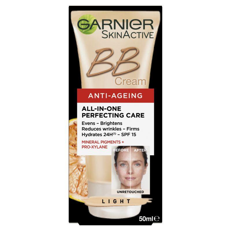 Garnier 卡尼尔 SkinActive系列 抗衰老防晒保湿BB霜(Light)50ml