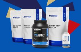 myprotein网站品牌单品好价来袭,最高6折优惠!